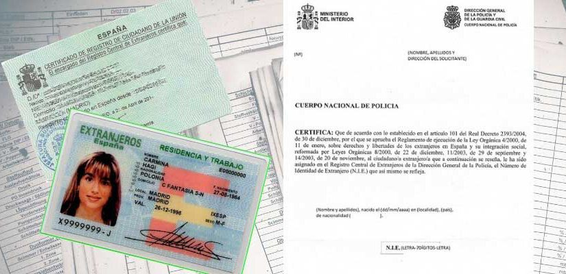 Spain: Foreigner Identity Number (NIE).